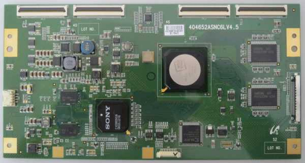 Sony tcon board 404652ASNC6LV4.5