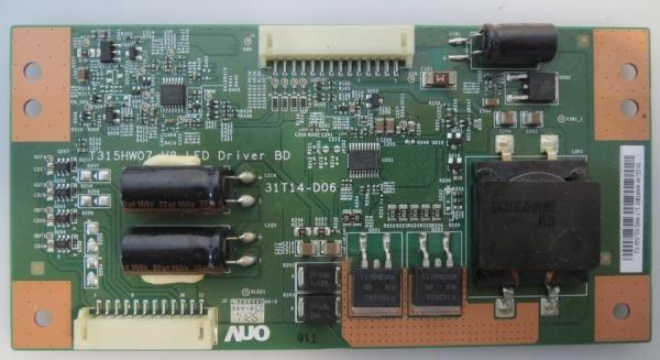 LED Driver 31T14-D06 T315HW07 V8 z.b für 32PFL5206H , 37LV5590 , MD30628DE , LED8225HDB