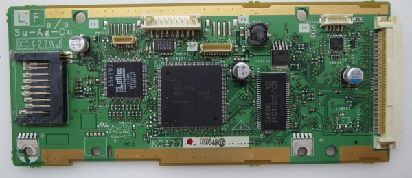 Sharp LC-32GA8E Memory Card Reader XC427WJ - KC427