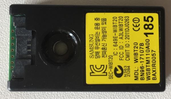 Bluetooth Modul WIBT20 BN96-17107B 185