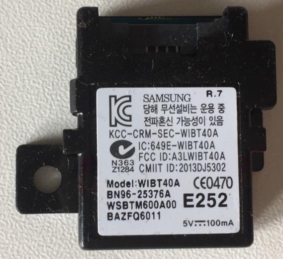 Bluetooth Modul WIBT40A BN96 25376A