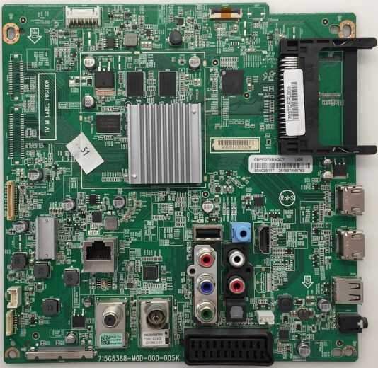 Mainboard 715G6388-M0D-000-005K z.B für 47PFK6559