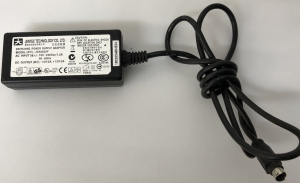 JTA0202Y IN(100-240Vac/1.2A) OUT(+5V/2A,+12V/2A)