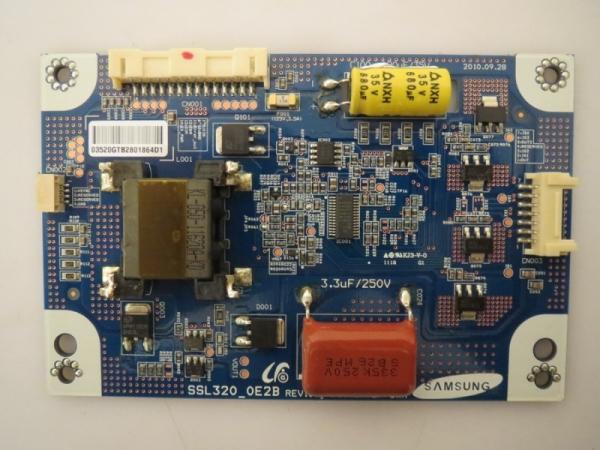 LED Driver SSL320_0E2B Rev.0.1 z.B. für LE32F125Q2 T32R970WLED, T32R970S
